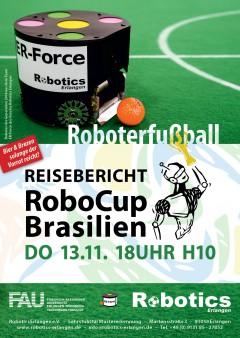 Plakat  Reisebericht: RoboCup Brasilien